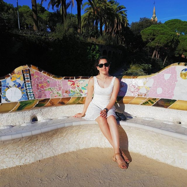 Today at Park Gell A dream come true barcelona gaudi