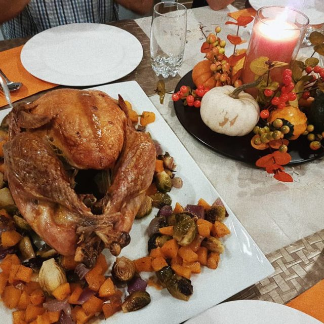 Happy Thanksgiving this amazing dinner was by my mom canadianthanksgivinghellip