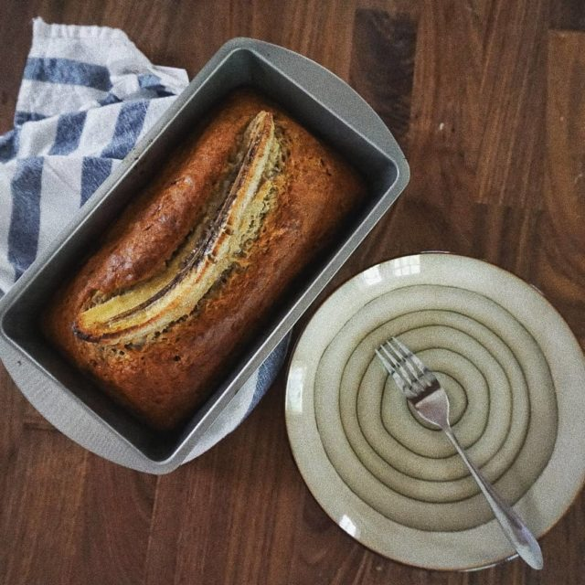 A little baking therapy baking bananabread