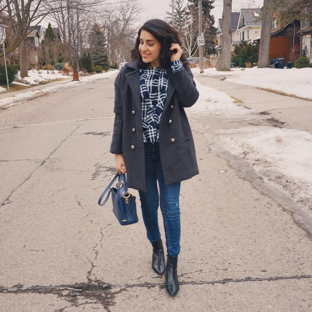 Yesterdays outfit    torontoblogger canadianblogger haul ootd outfitofthedayhellip