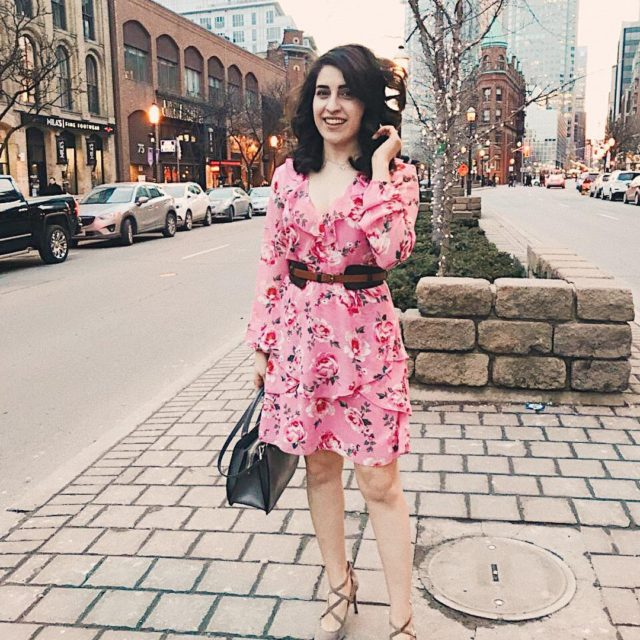 Happy about the warmer days springfashion pink